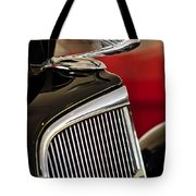 1935 Chevrolet Optional Eagle Hood Ornament Tote Bag