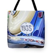1935 Colour Tote Bag by Gary Gillette