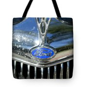 1935 Ford V8 Hood Ornament 2 Tote Bag