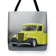1935 Ford V8 Pickup Tote Bag