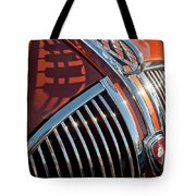 1935 Plymouth Hood Ornament Tote Bag