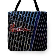 1935 Pontiac 2 Door Sedan Grill Logo Tote Bag