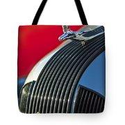 1935 Pontiac Sedan Hood Ornament Tote Bag