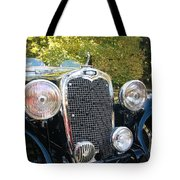 1935 Triumph Southern Cross Front Grill Tote Bag