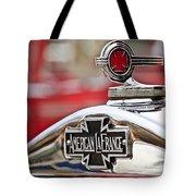 1936 American Lafrance Fire Truck Hood Ornament Tote Bag by Jill Reger