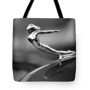 1936 Cadillac Hood Ornament 3 Tote Bag