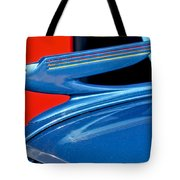 1936 Chevrolet Hood Ornament 2 Tote Bag