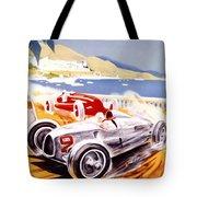 1936 F1 Monaco Grand Prix  Tote Bag by Georgia Fowler