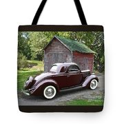 1936 Ford 3-window Tote Bag