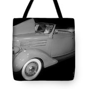 1936 Ford Rumble Seat Cabriolet  Tote Bag