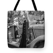 1936 Howe  Black And White Tote Bag