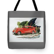 1936 La Salle Two Door Touring Sedan Tote Bag