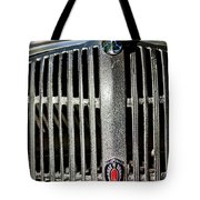 1936 Oldsmobile Grille Tote Bag
