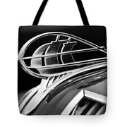 1936 Plymouth Sedan Hood Ornament 2 Tote Bag