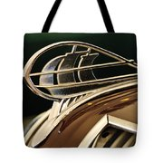 1936 Plymouth Sedan Hood Ornament Tote Bag