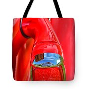 1937 Chevy Coupe Tail Light Tote Bag