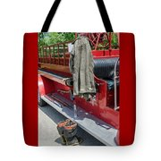 1937  Chevy Fire Engine Tote Bag