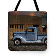 1937 Chevy Pickup Truck Tote Bag