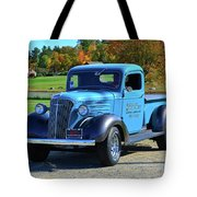 1937 Chevy Truck Tote Bag