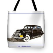 1937 Chrysler Airflow  Tote Bag