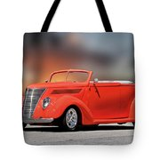 1937 Ford Cabriolet 'old School Vibe II Tote Bag