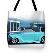 1937 Ford 'classic' Cabriolet Tote Bag