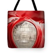1937 Ford Headlight Detail Tote Bag