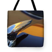 1937 Ford Hood Ornament 3 Tote Bag