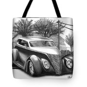 1937 Ford Sedan Tote Bag by Peter Piatt