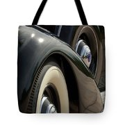 1937 Lincoln K Brunn Abstract Tote Bag