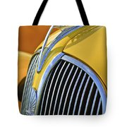 1937 Plymouth Hood Ornament 2 Tote Bag