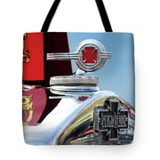1938 American Lafrance Fire Truck Hood Ornament Tote Bag
