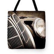 1938 Bmw 327-8 Cabriolet Grille Emblem -1526s Tote Bag