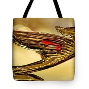 1938 Cadillac V-16 Sedan Hood Ornament 2 Tote Bag