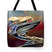 1938 Cadillac V-16 Sedan Hood Ornament Tote Bag