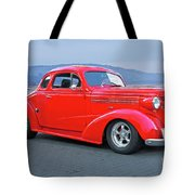 1938 Chevrolet 'all Business. Coupe Tote Bag