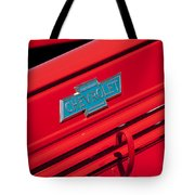 1938 Chevrolet Pickup Truck Emblem Tote Bag by Jill Reger