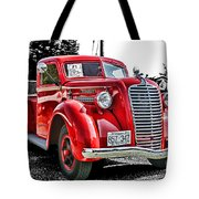 1938 Diamond T Hdr Tote Bag