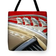 1938 Plymouth Hood Ornament Tote Bag