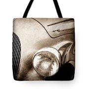 1938 Talbot-lago 150c Ss Figoni And Falaschi Cabriolet Headlight - Emblem -1554s Tote Bag