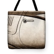 1938 Talbot-lago 150c Ss Figoni And Falaschi Cabriolet Side Door Handle -1511s Tote Bag