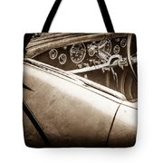 1938 Talbot-lago 150c Ss Figoni And Falaschi Cabriolet Steering Wheel -1561s Tote Bag