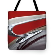 1938 Willys Aftermarket Hood Ornament Tote Bag