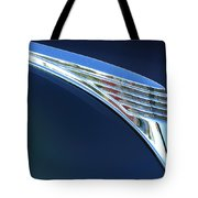 1939 Ford Deluxe Hood Ornament Tote Bag