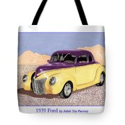1939 Ford Deluxe Street Rod Tote Bag