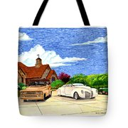1939 Lincoln Zephyr  Family Home Tote Bag