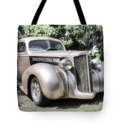 1939 Packard Coupe Tote Bag by Richard Rizzo