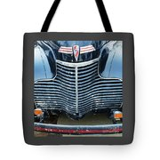 1940 Chevy Roadster Grill Tote Bag