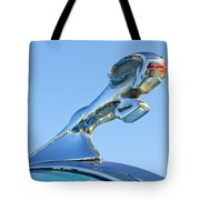 1940 Dodge Business Coupe Hood Ornament Tote Bag