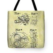 1940 Film Camera Patent Tote Bag